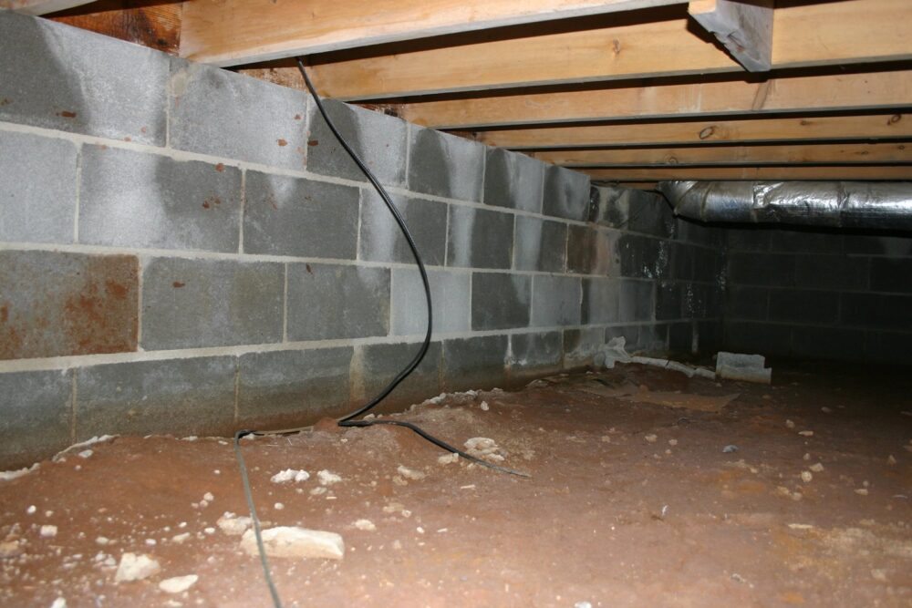 Crawl space repair best waterproofing louisville ky Crawl space flooring