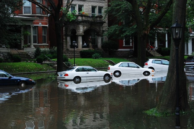 Louisville Flooded Streets