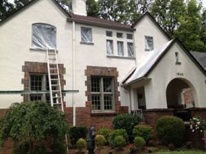 After Stucco Repair in Louisville